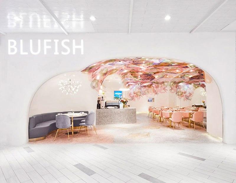 Blufish Restaurant blufish restaurant Whimsical Blufish Restaurant by SODA Architects in Beijing Blufish Restaurant 1