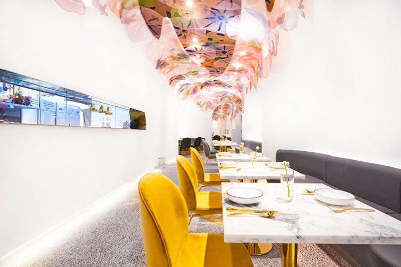 Blufish Restaurant  blufish restaurant Whimsical Blufish Restaurant by SODA Architects in Beijing Blufish Restaurant 3