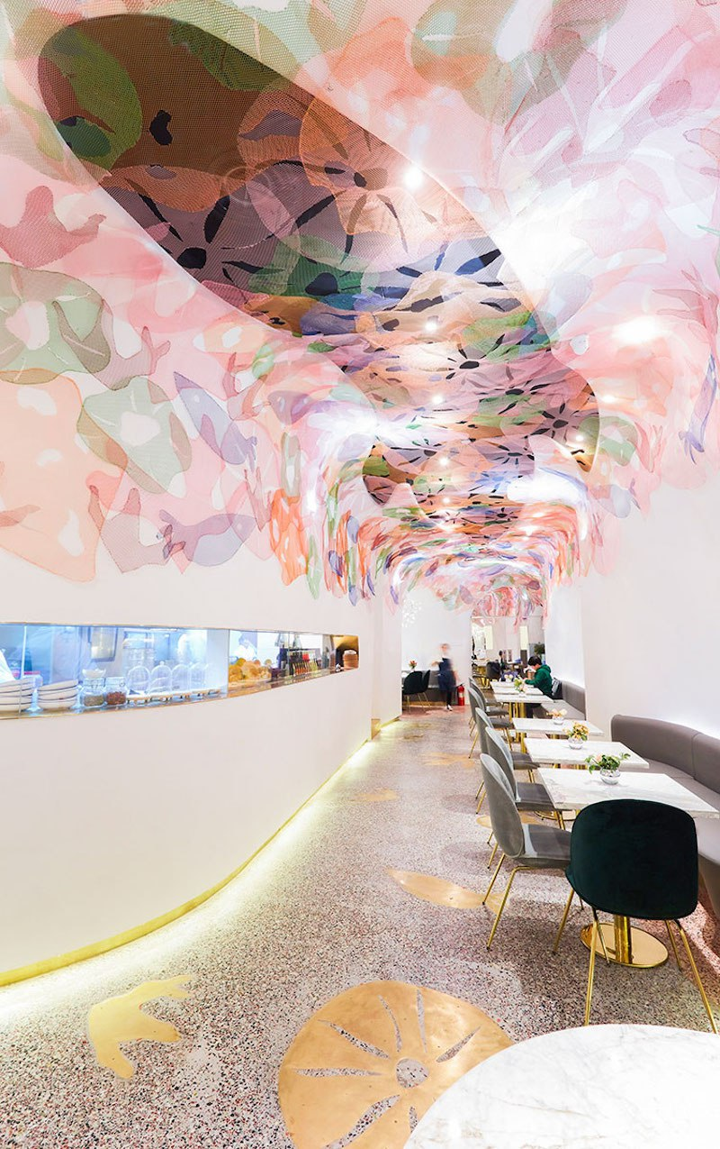 Blufish Restaurant  blufish restaurant Whimsical Blufish Restaurant by SODA Architects in Beijing Blufish Restaurant 4