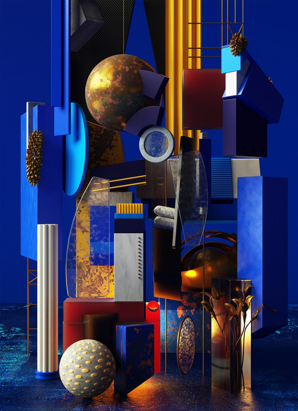 Cubist Compositions by Omar Aqil cubist composition Cubist Compositions by Omar Aqil Cubist Compositions 11