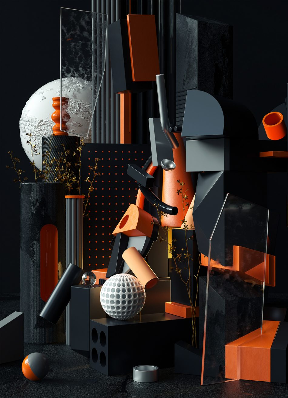 Cubist Compositions by Omar Aqil cubist composition Cubist Compositions by Omar Aqil Cubist Compositions 5 1