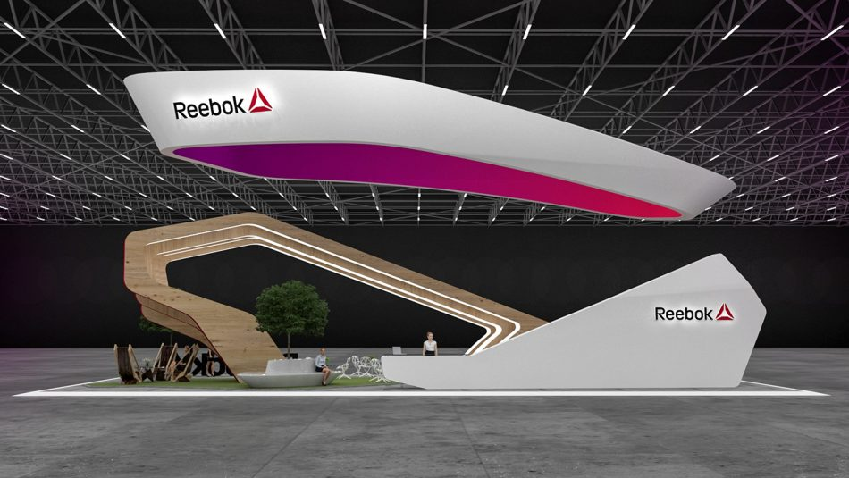 Reebok Exhibition Stand, reebok, exhibition, stand, fairs and exhibitions,   Reebok Exhibition Stand Reebok Exhibition Stand 1