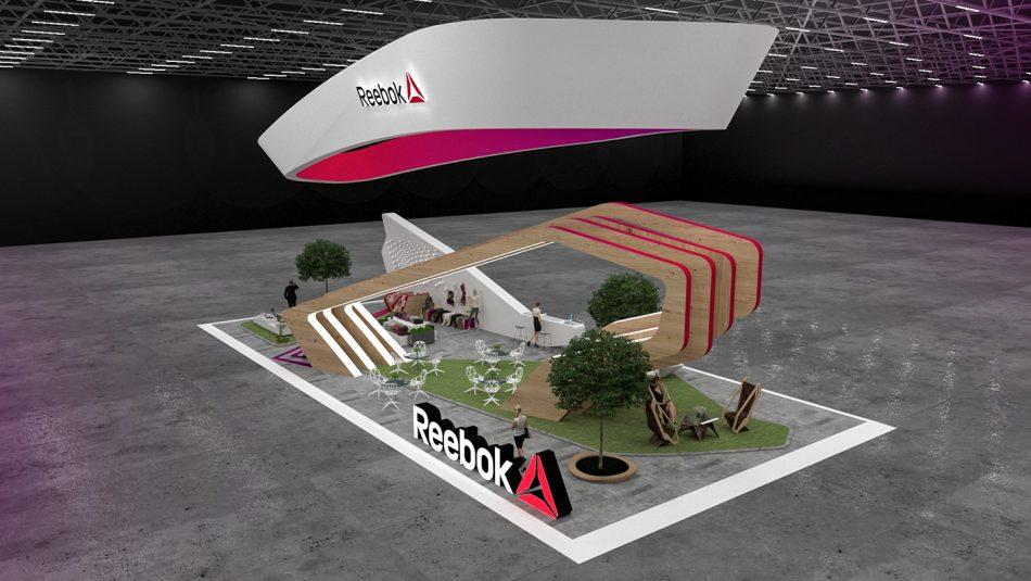Reebok Exhibition Stand  Reebok Exhibition Stand Reebok Exhibition Stand 4