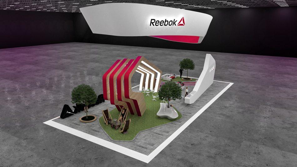 Reebok Exhibition Stand  Reebok Exhibition Stand Reebok Exhibition Stand 5