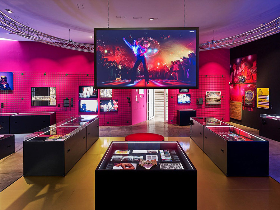 """night fever exhibition """"Night Fever"""" exhibition – Vitra Design Museum in Germany night fever 8"""