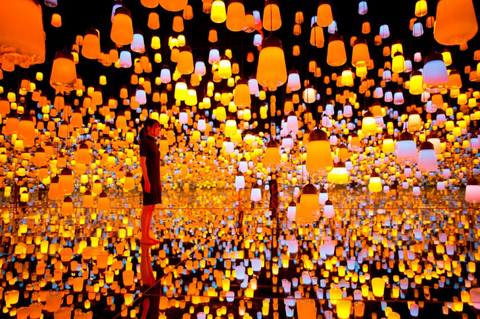 teamlab Exploring teamLab Borderless: a digital art museum in Tokyo, Japan teamLab Borderless 22