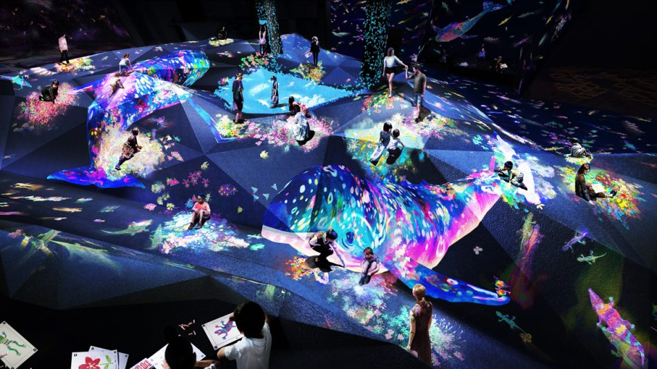 teamlab Exploring teamLab Borderless: a digital art museum in Tokyo, Japan teamLab Borderless 27