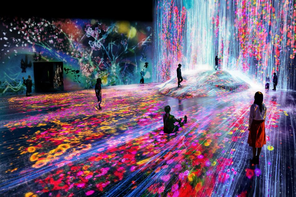 teamlab Exploring teamLab Borderless: a digital art museum in Tokyo, Japan teamLab Borderless 4