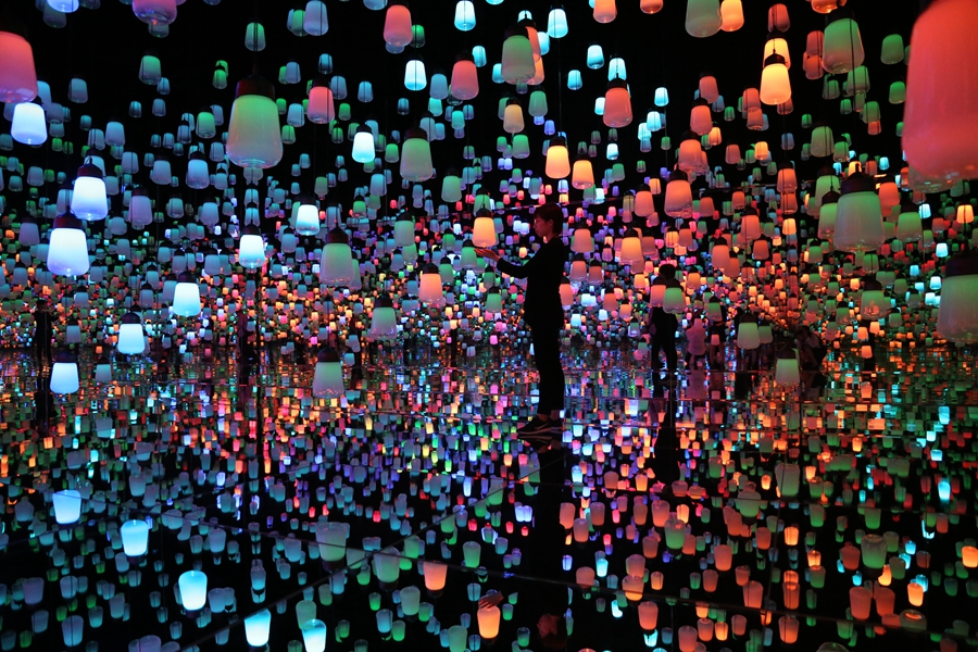 teamLab teamlab Exploring teamLab Borderless: a digital art museum in Tokyo, Japan teamLab Borderless 5