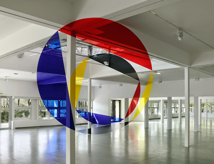 colorful optical Felice Varini Paints Colorful Optical // Illusions In Urban Landscapes Colorful Optical 6