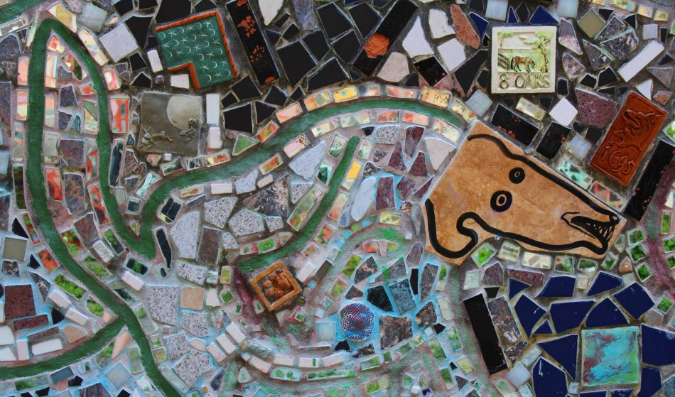 philadelphia's magic gardens Mosaic Installation & Gallery in Philadelphia Philadelphia   s Magic Gardens 1