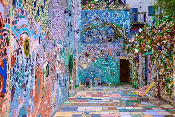 philadelphia's magic gardens Mosaic Installation & Gallery in Philadelphia Philadelphia   s Magic Gardens 26