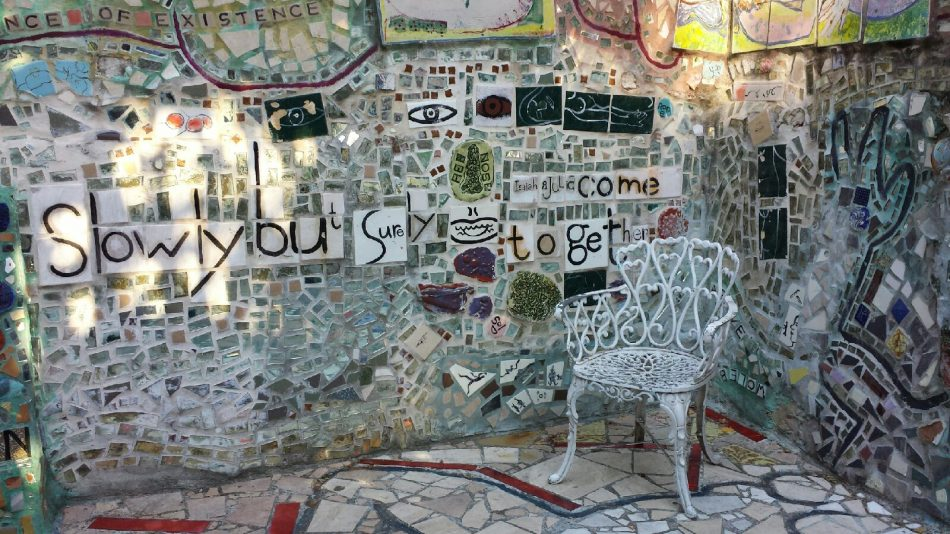 philadelphia's magic gardens Mosaic Installation & Gallery in Philadelphia Philadelphia   s Magic Gardens 3