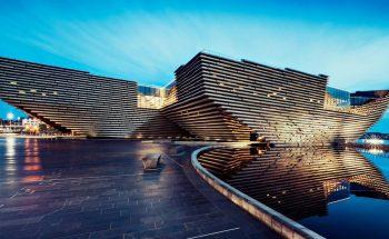Kengo Kuma's V&A Dundee Design Museum