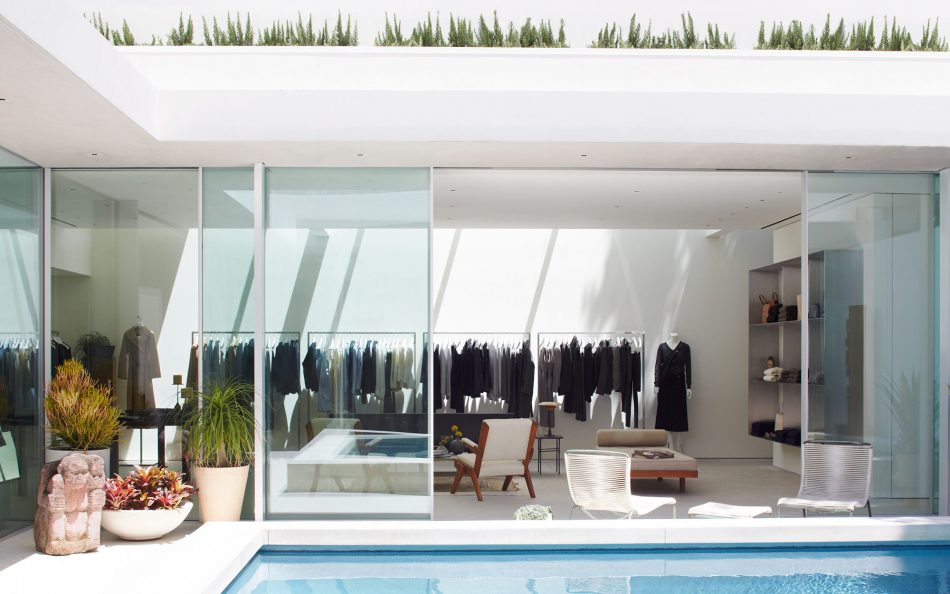 the row's The Row's first store with mid-century Californian home style The Row   s 5
