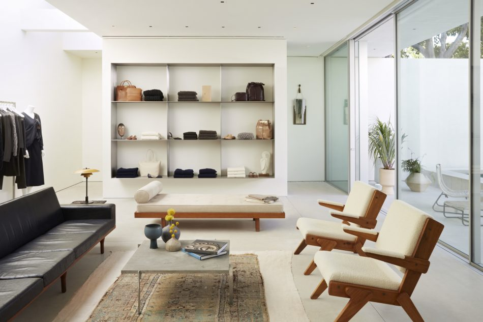 the row's The Row's first store with mid-century Californian home style The Row   s 7