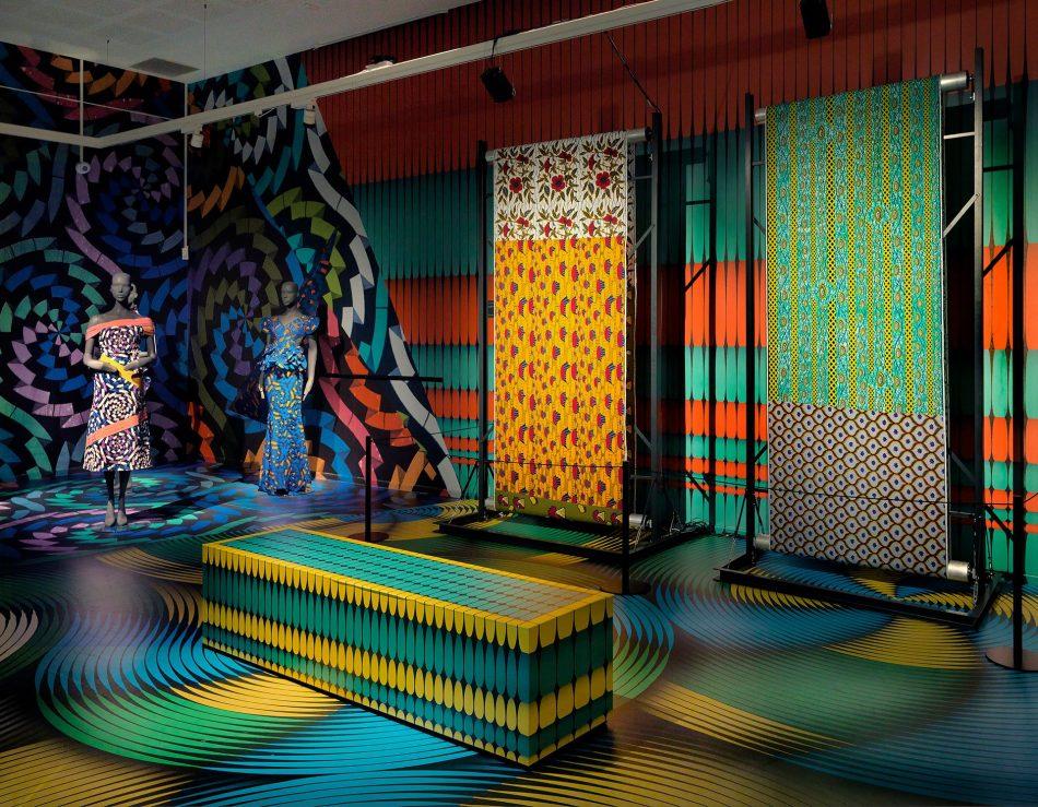 vlisco's fabric exhibition Vlisco's Fabric Exhibition at Museum Helmond Vlisco   s Fabric Exhibition 2