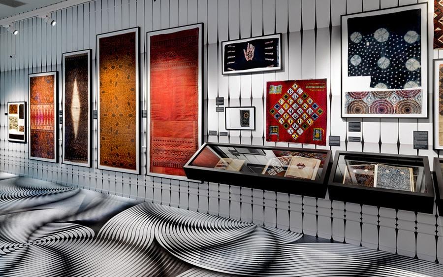 vlisco's fabric exhibition Vlisco's Fabric Exhibition at Museum Helmond Vlisco   s Fabric Exhibition 3