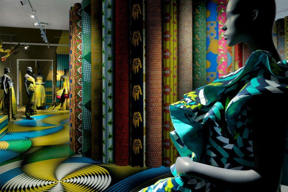 vlisco's fabric exhibition Vlisco's Fabric Exhibition at Museum Helmond Vlisco   s Fabric Exhibition 4