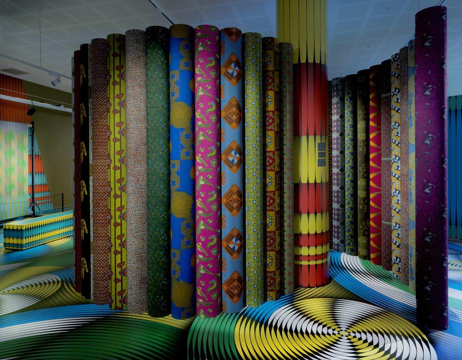 vlisco's fabric exhibition Vlisco's Fabric Exhibition at Museum Helmond Vlisco   s Fabric Exhibition 5
