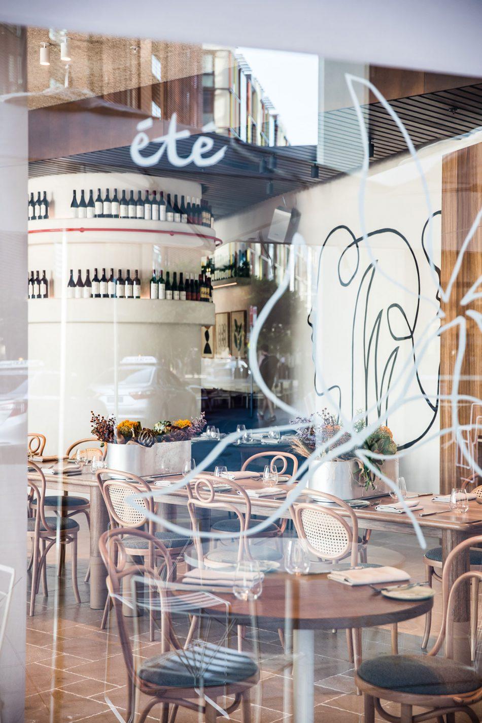 Été Été Contemporary Australia in Sydney's Été Restaurant   t   Restaurant 15