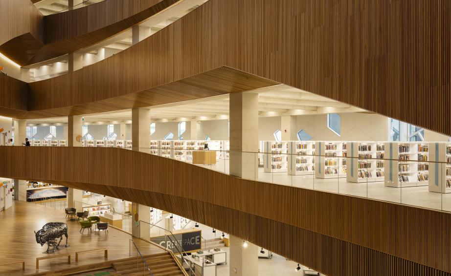 Calgary Central Library calgary central library Snøhetta and DIALOG's Calgary Central Library Calgary Central Library 4