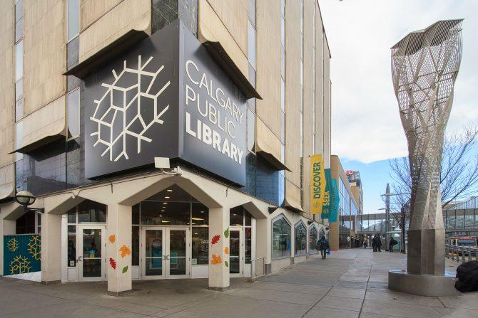 Calgary Central Library calgary central library Snøhetta and DIALOG's Calgary Central Library Calgary Central Library 7