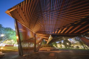 The MPavilion by Carme Pinós launches in Melbourne