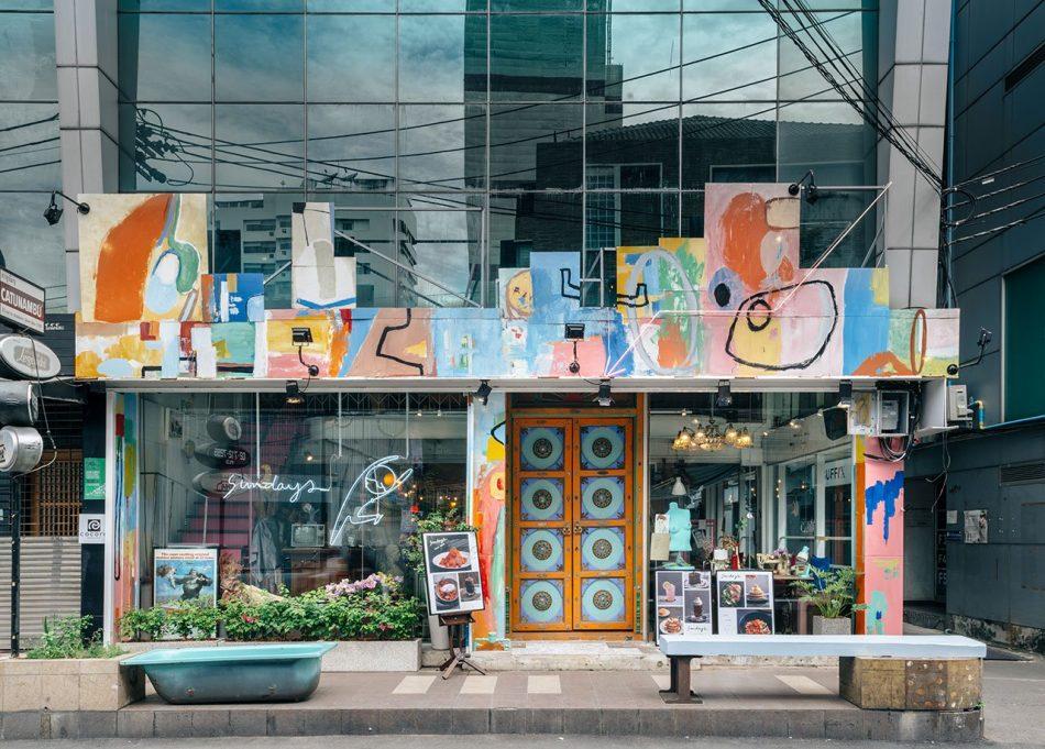 """sundays Architecture, Graphic Design & Art Converge in """"Sundays"""", Bangkok architecture graphic design art converge in sundays bangkok 6"""