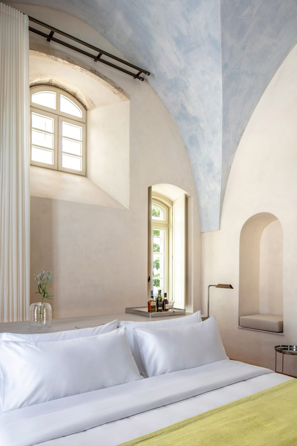 john pawson John Pawson Transforms a Former Hospital Into a Luxury Hotel John Pawson Transforms a Former Hospital Into a Luxury Hotel in Tel Aviv 11