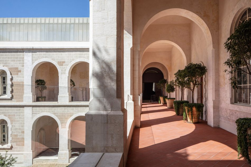 john pawson John Pawson Transforms a Former Hospital Into a Luxury Hotel John Pawson Transforms a Former Hospital Into a Luxury Hotel in Tel Aviv 8