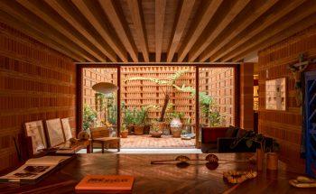 Unique Red Brick Studio built for Mexican Photographer Graciela Iturbide