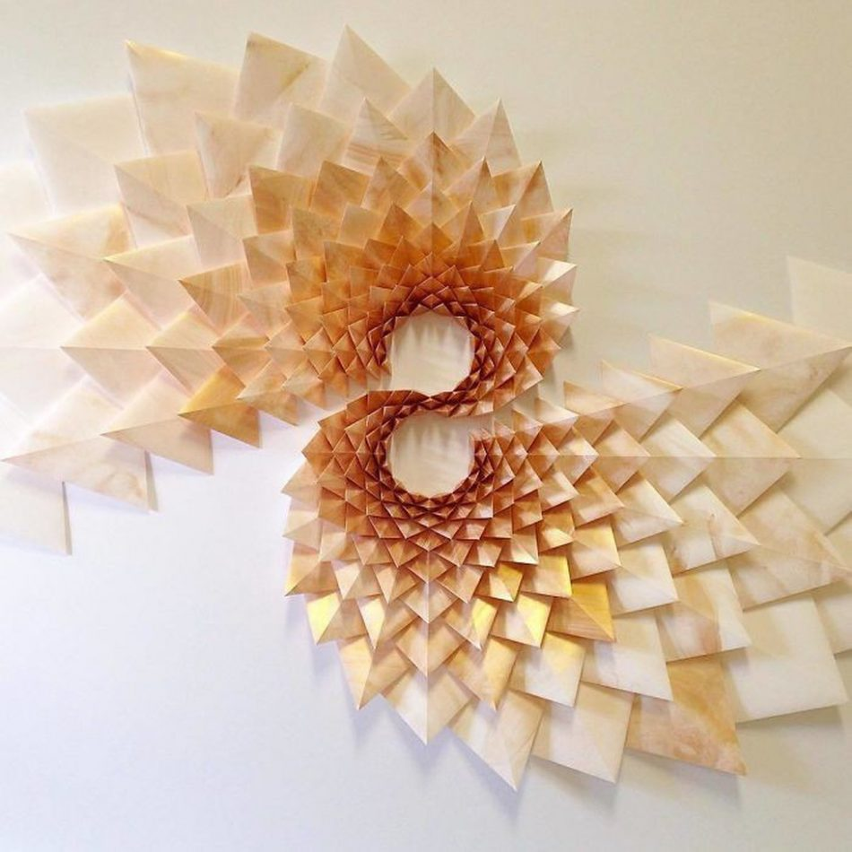 geometric art Engineer Turns Simple Sheets Of Paper Into Geometric Art engineer turns simple sheets paper geometric art 16