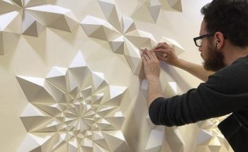 Engineer Turns Simple Sheets Of Paper Into Geometric Art