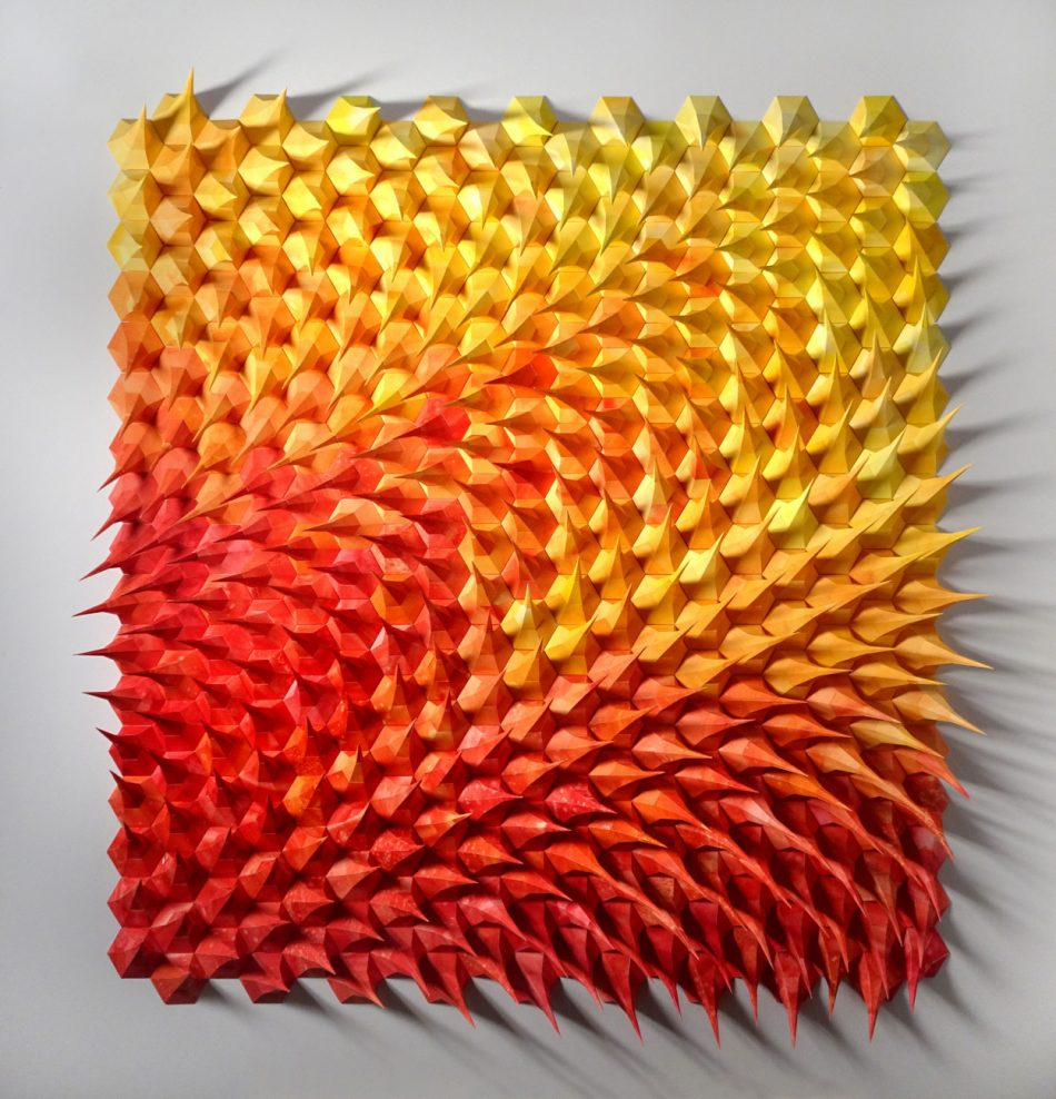 Geometric Art geometric art Engineer Turns Simple Sheets Of Paper Into Geometric Art engineer turns simple sheets paper geometric art 24