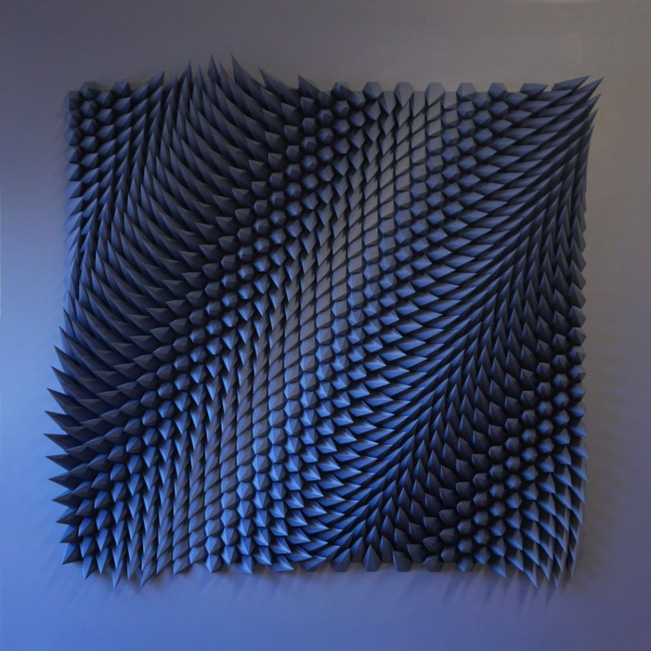 geometric art Engineer Turns Simple Sheets Of Paper Into Geometric Art engineer turns simple sheets paper geometric art 3