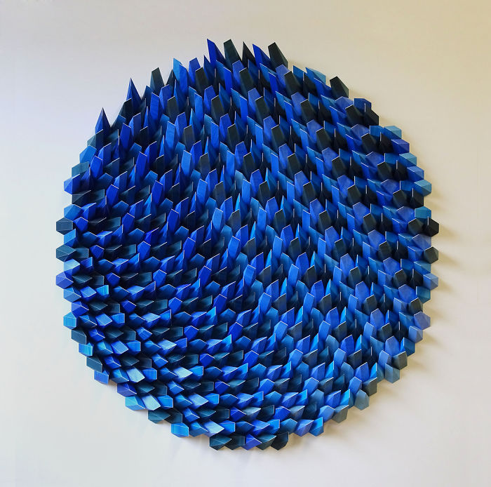 geometric art Engineer Turns Simple Sheets Of Paper Into Geometric Art engineer turns simple sheets paper geometric art 6