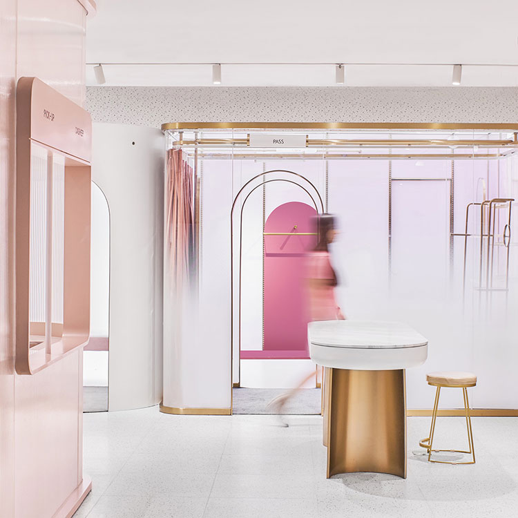 fitting rooms Shop optimizes floor space by turning fitting rooms into hallways shop optimizes floor space by turning fitting rooms into hallways 1