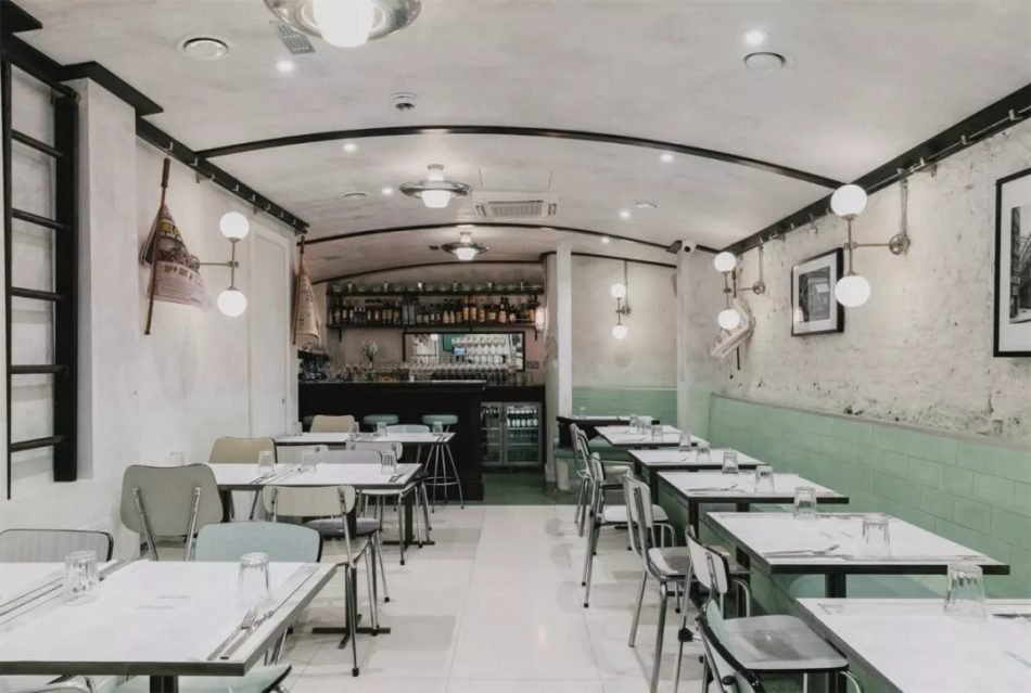 mid-century A Mid-Century restaurant creation for London Institution in Lina Stores a mid century restaurant creation for london institution lina stores 3 1