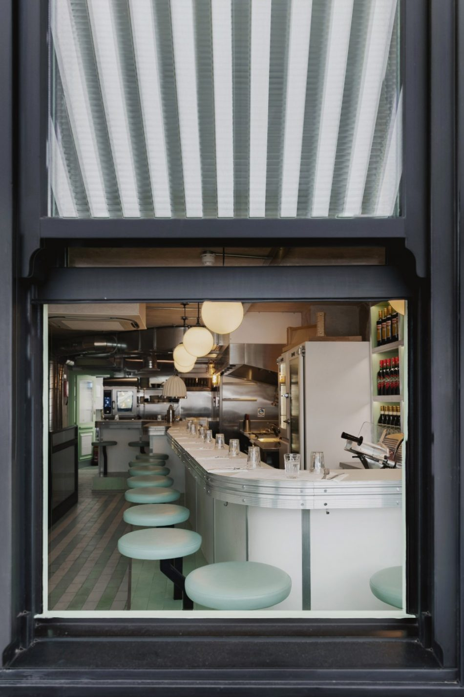 mid-century mid-century A Mid-Century restaurant creation for London Institution in Lina Stores a mid century restaurant creation for london institution lina stores 4