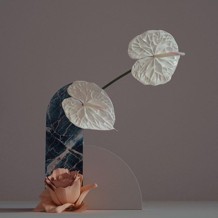 digibana An amazing 'Digibana' project in 3D Flowers By Studio Brasch amazing digibana project flowers studio brasch 1