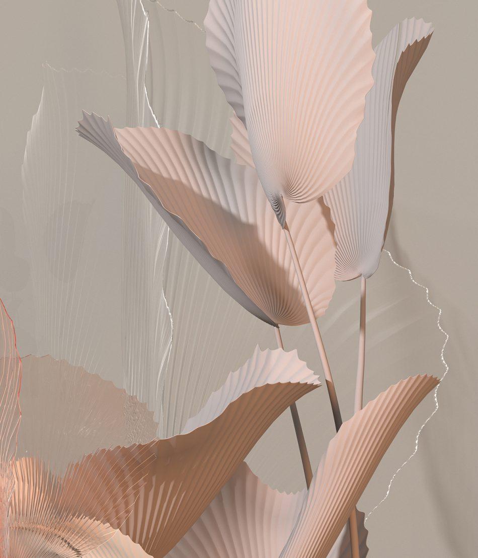 digibana An amazing 'Digibana' project in 3D Flowers By Studio Brasch amazing digibana project flowers studio brasch 3