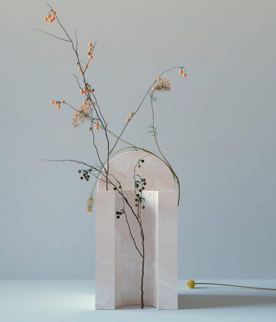 digibana An amazing 'Digibana' project in 3D Flowers By Studio Brasch amazing digibana project flowers studio brasch 6