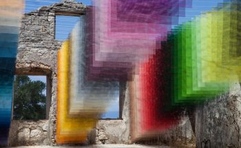 Contemporary Art Project Meshes Spray Paint and Greek Ruins contemporary Contemporary Art Project Meshes Spray Paint and Greek Ruins contemporary art project meshes spray paint greek ruins 1 350x215