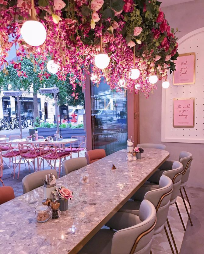 [object object] Elan Cafe a very dusky pink and stunning place elan cafe dusky pink stunning place 10