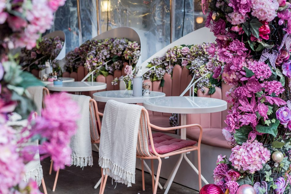 [object object] Elan Cafe a very dusky pink and stunning place elan cafe dusky pink stunning place 20