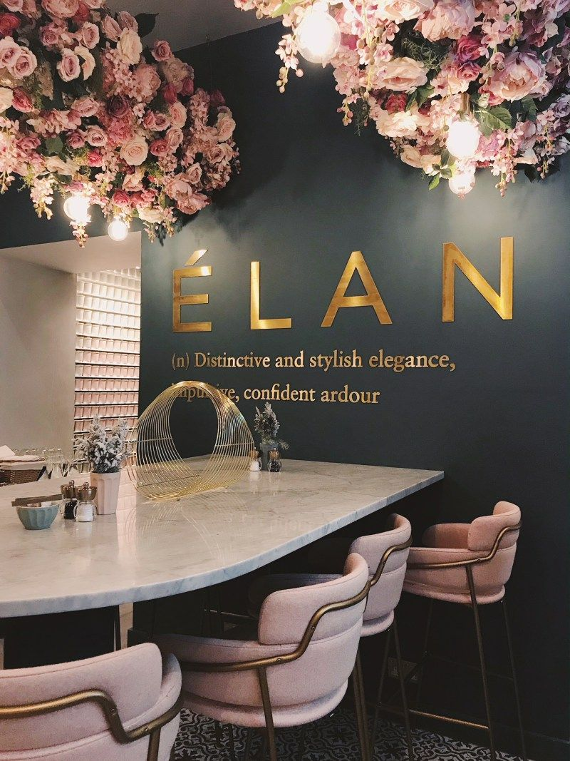 [object object] Elan Cafe a very dusky pink and stunning place elan cafe dusky pink stunning place 4