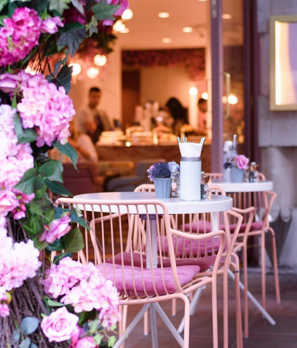 [object object] Elan Cafe a very dusky pink and stunning place elan cafe dusky pink stunning place 6