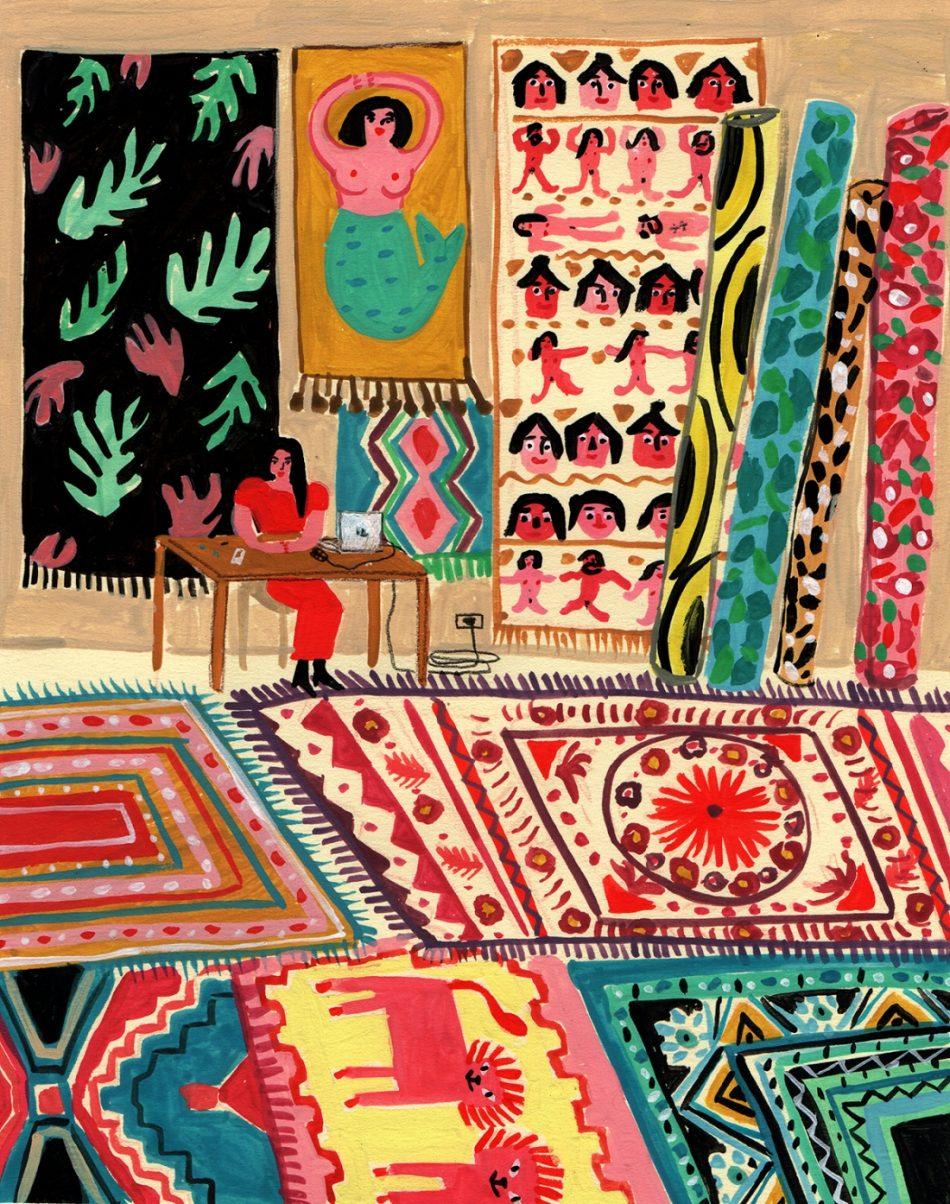maría luque María Luque an amazing Argentinean illustrator maria luque amazing argentinean illustrator 14