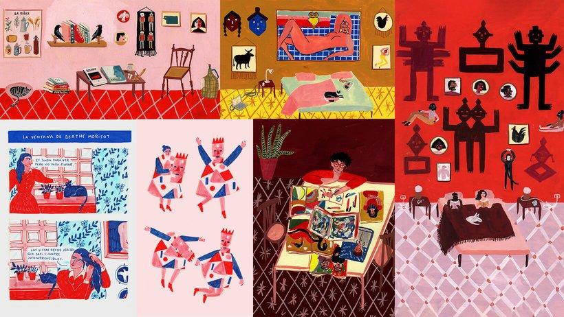 maría luque María Luque an amazing Argentinean illustrator maria luque amazing argentinean illustrator 18